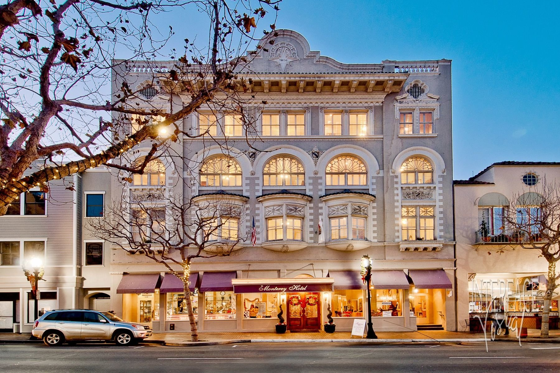 Hotels In Monterey Ca >> Monterey Hotels The Monterey Hotel